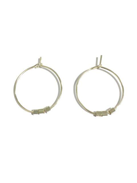 Boucle-d'oreilles-argent-perles