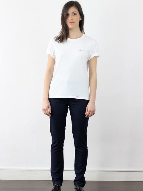 Tee-shirt femme made in france