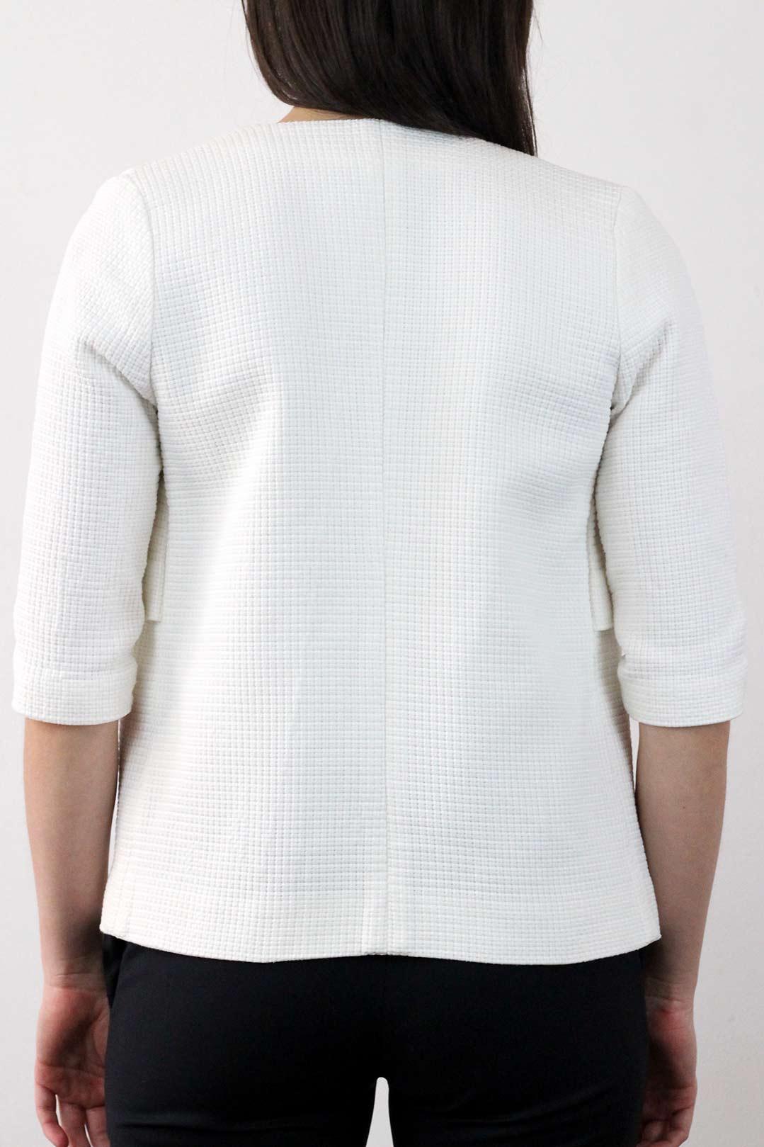 Veste Coton blanche femme 3