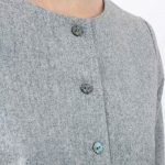 gilet en laine gris femme 3