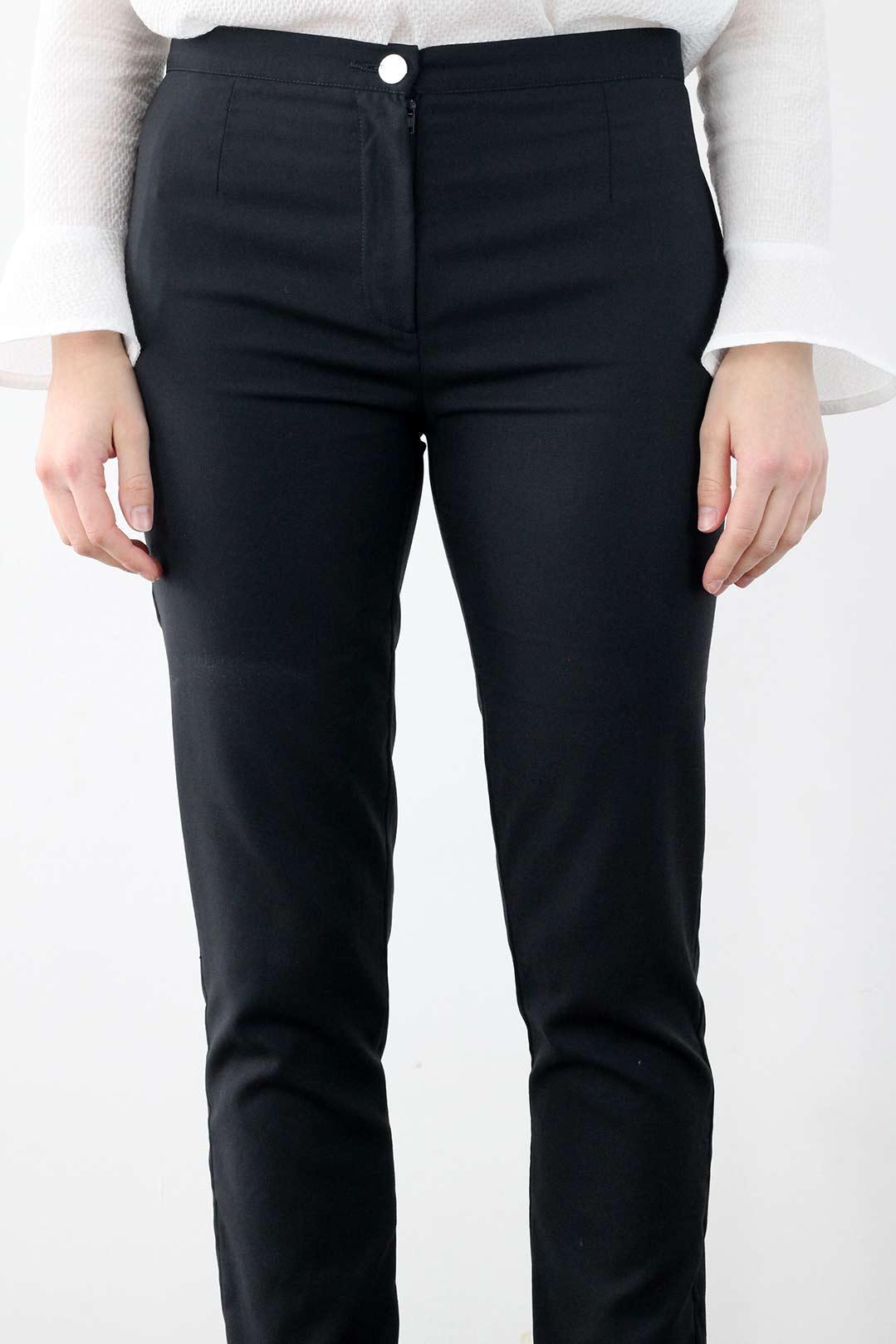 pantalon cigarette noir 1