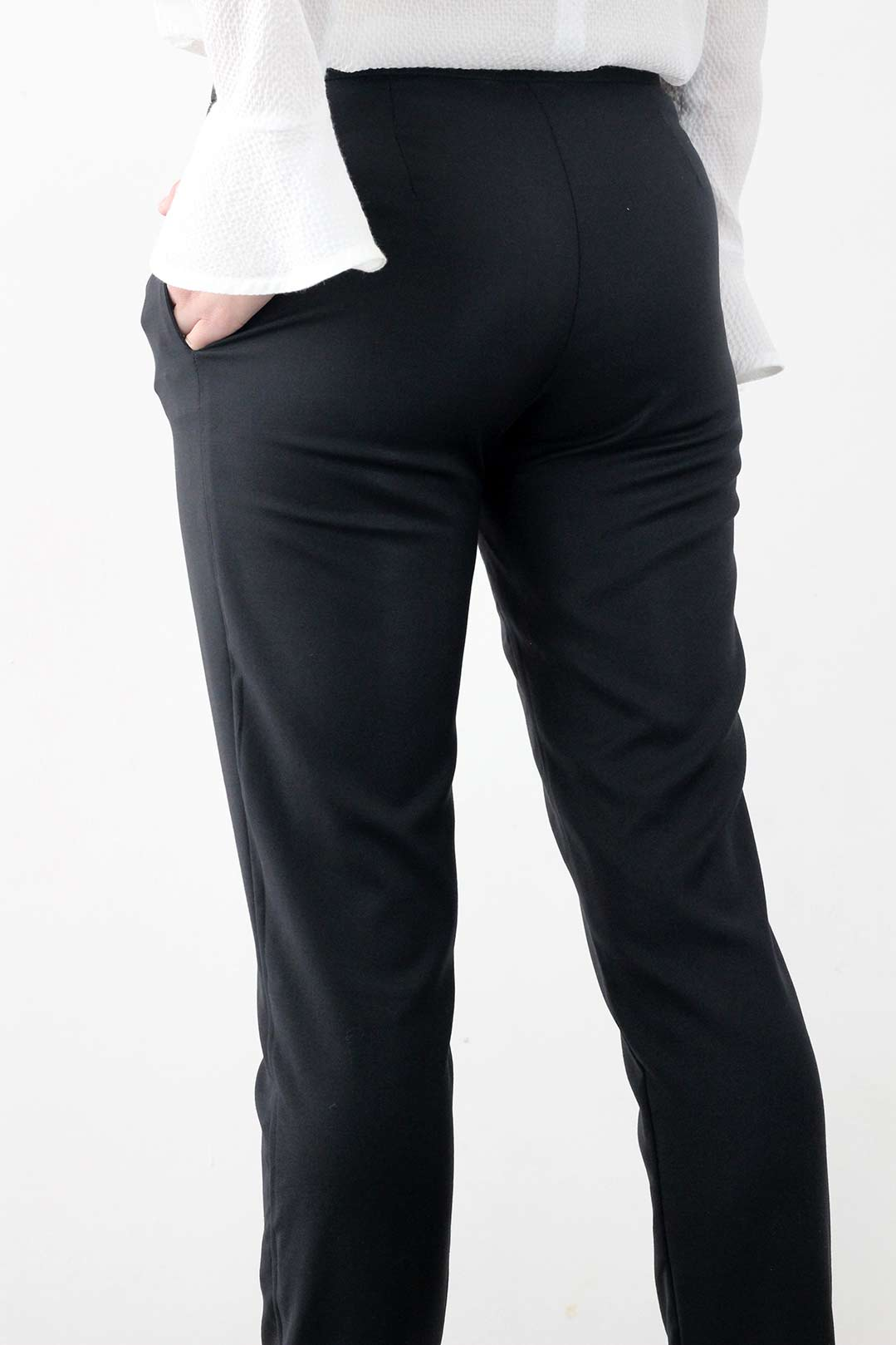 pantalon cigarette noir 2