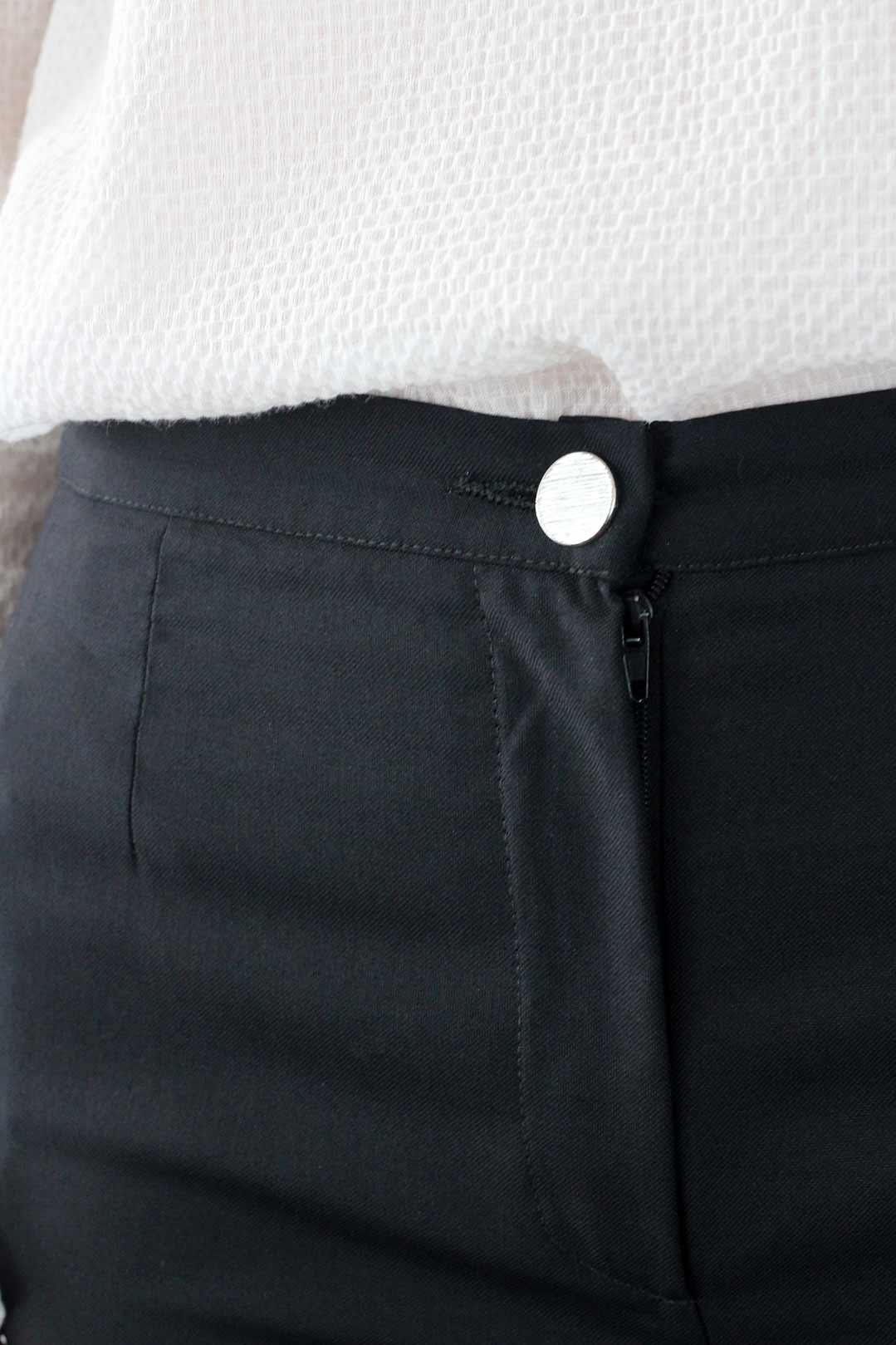 pantalon cigarette noir 3
