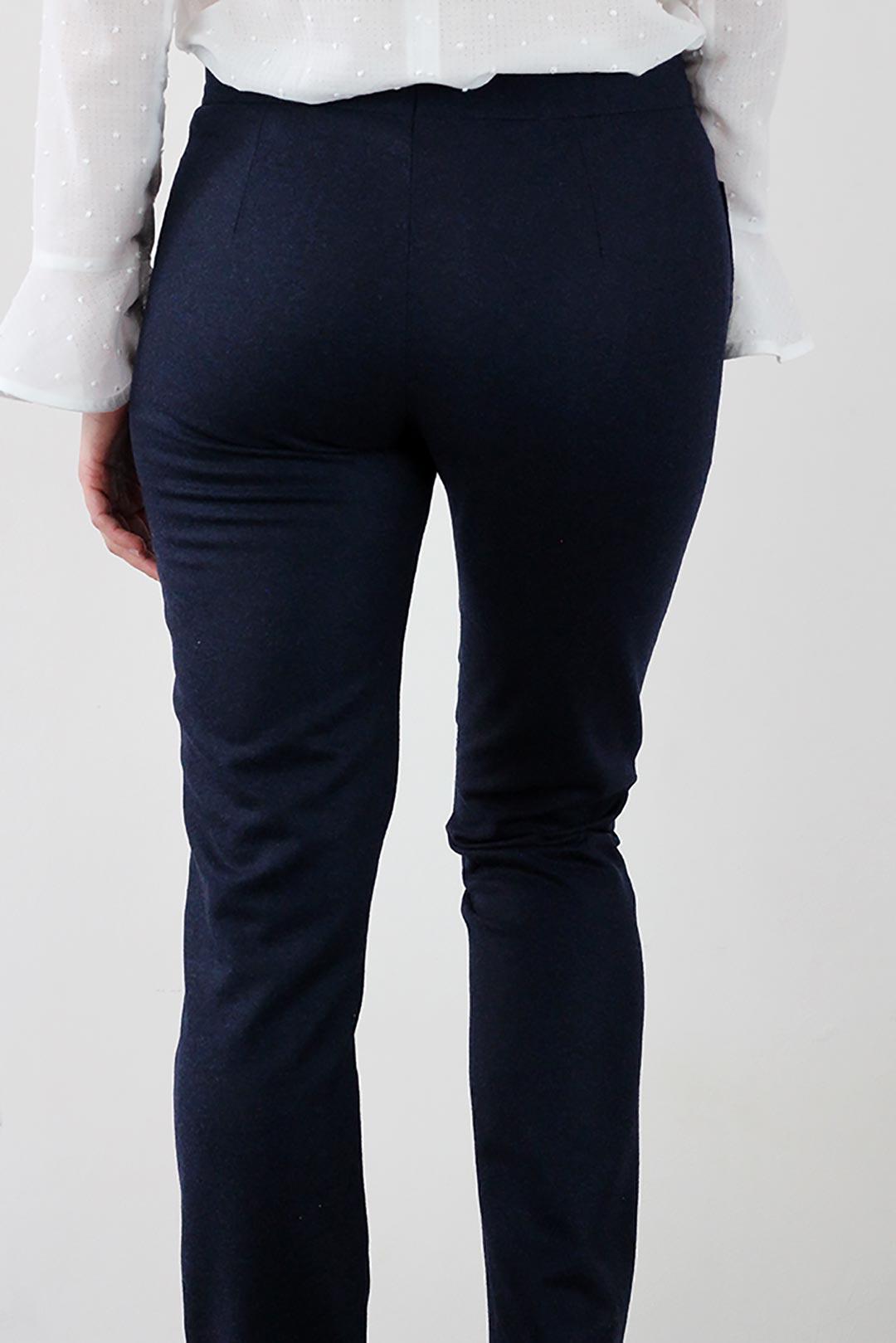 pantalon flanelle femme