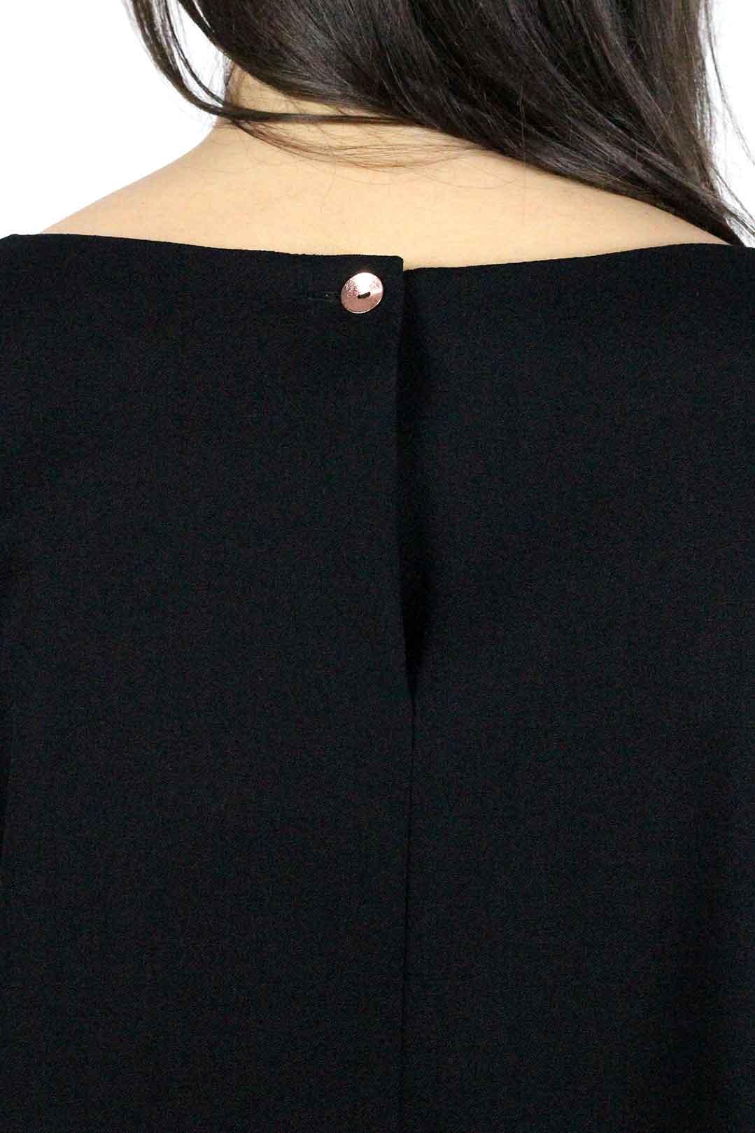 top noir manche longue femme 4