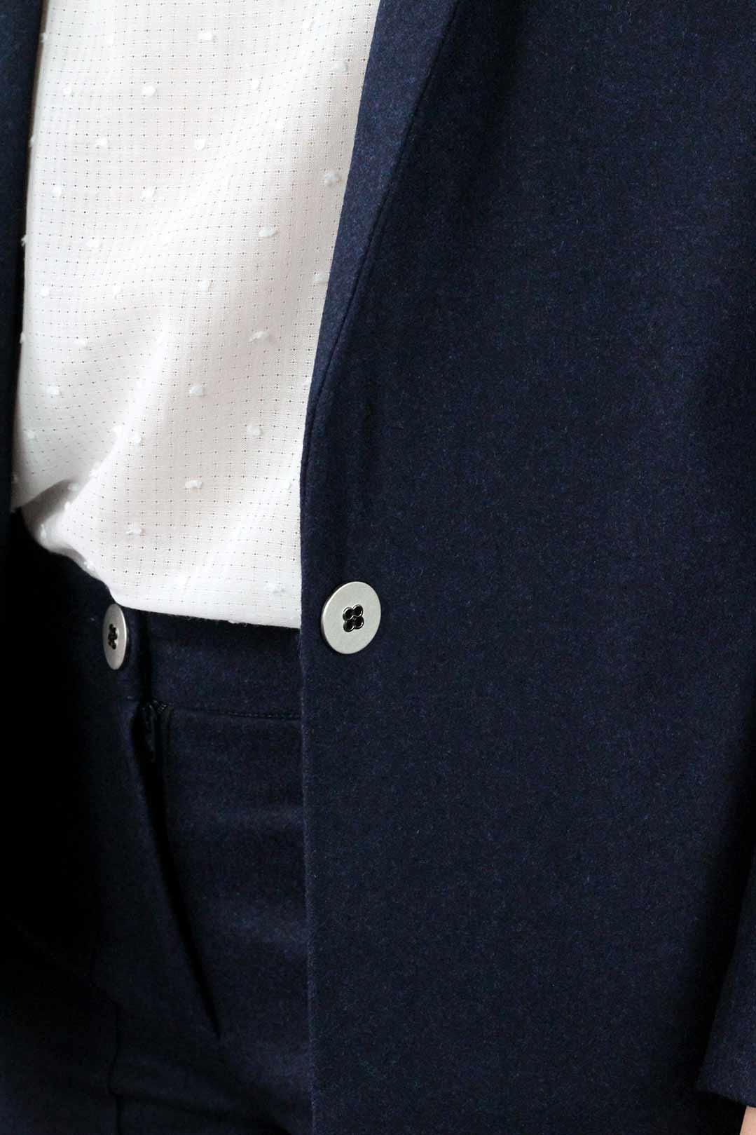 tailleur femme bleu marine veste tailleur pour femme sans boutons bleu marine tailleur femme. Black Bedroom Furniture Sets. Home Design Ideas