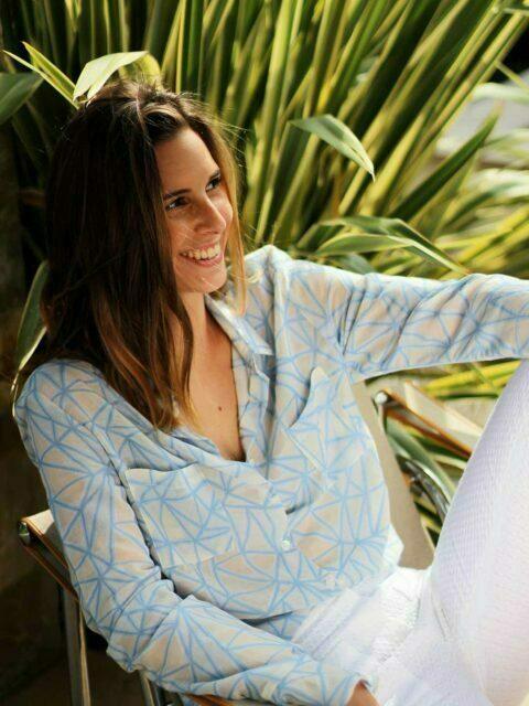 chemise femme coton