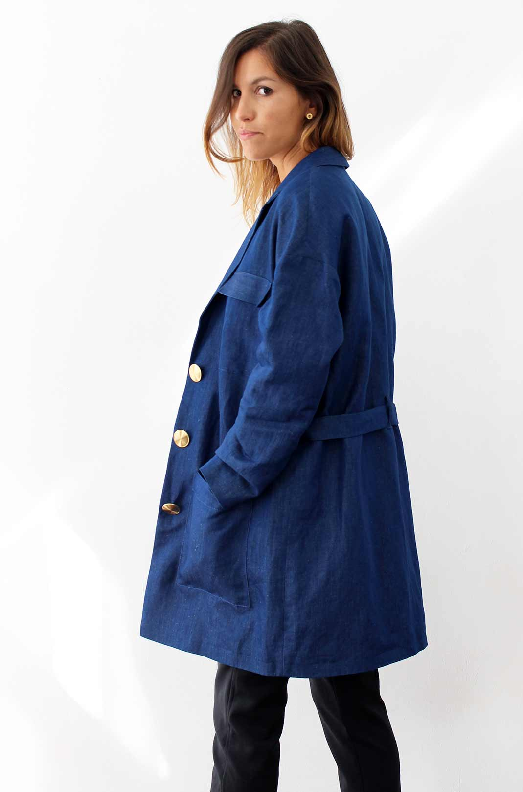 trench fluide femme 1