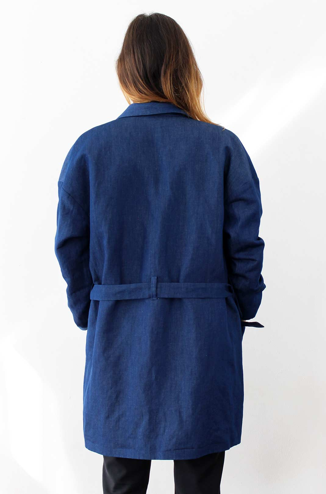 trench fluide femme 2