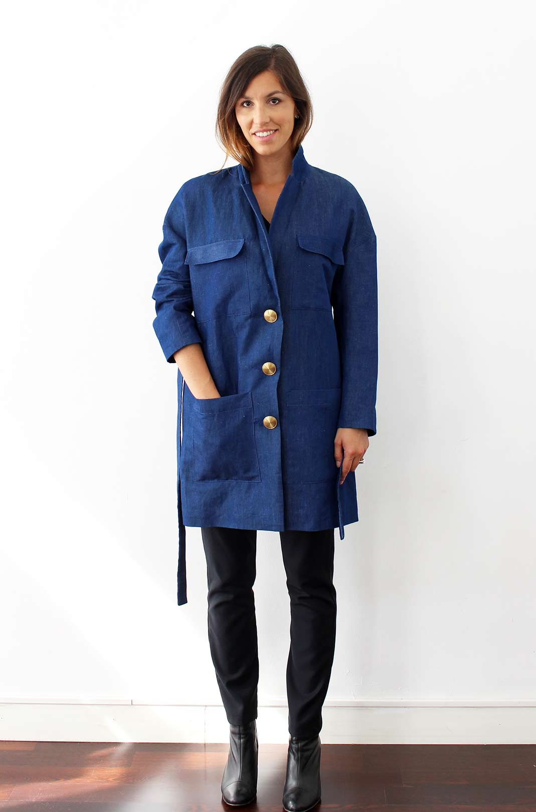 trench fluide femme 4