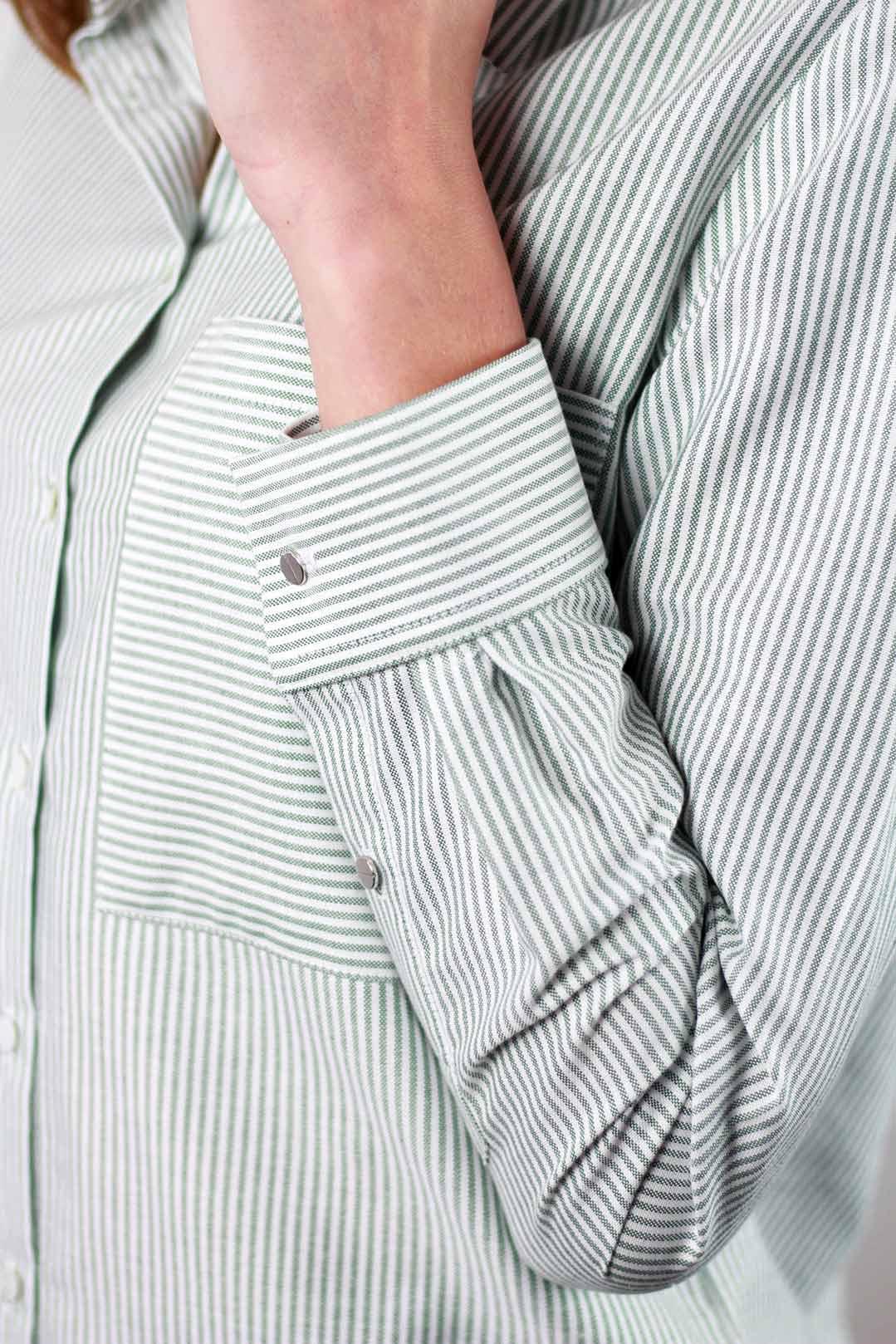 chemise femme rayures