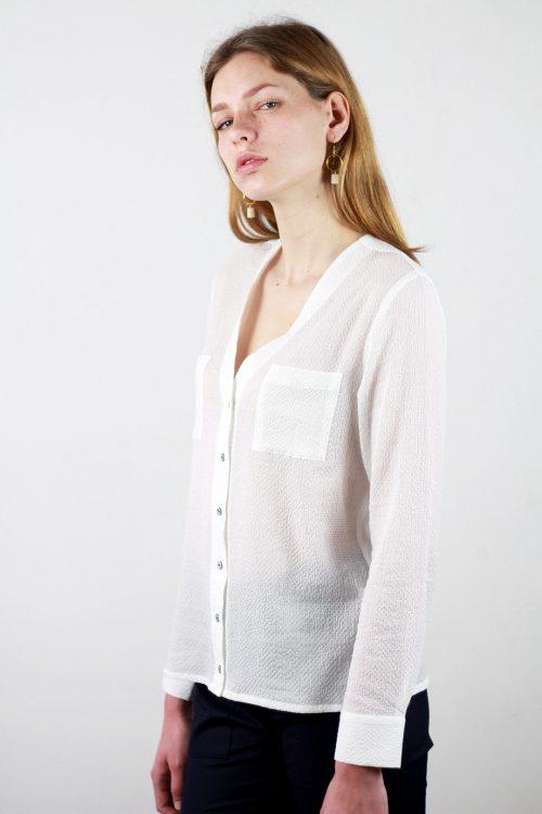 chemise et chemisier femme chic made in france atode. Black Bedroom Furniture Sets. Home Design Ideas