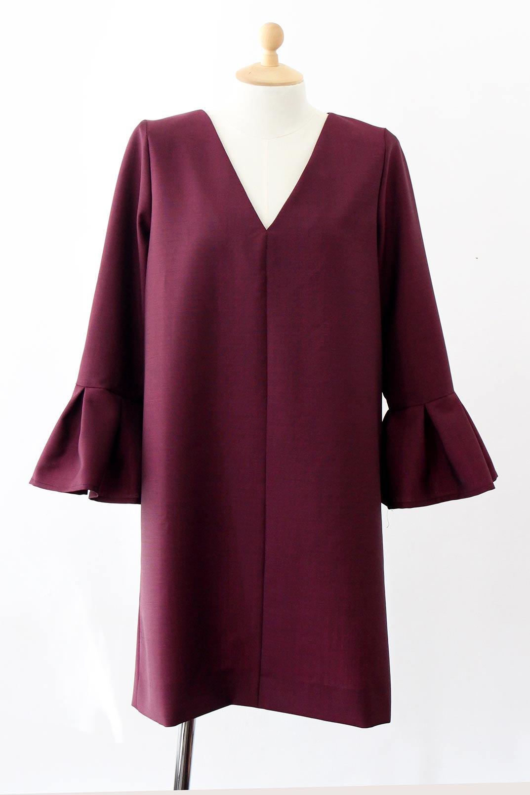 robe-michèle-bordeaux