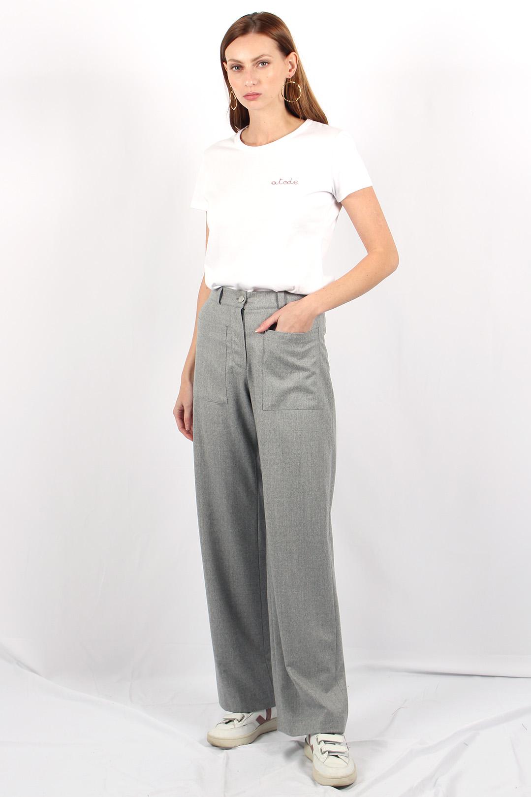 tshirt femme en coton made in france