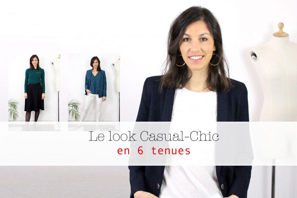 le style casual chic femme - règle et de base et idées de looks atode