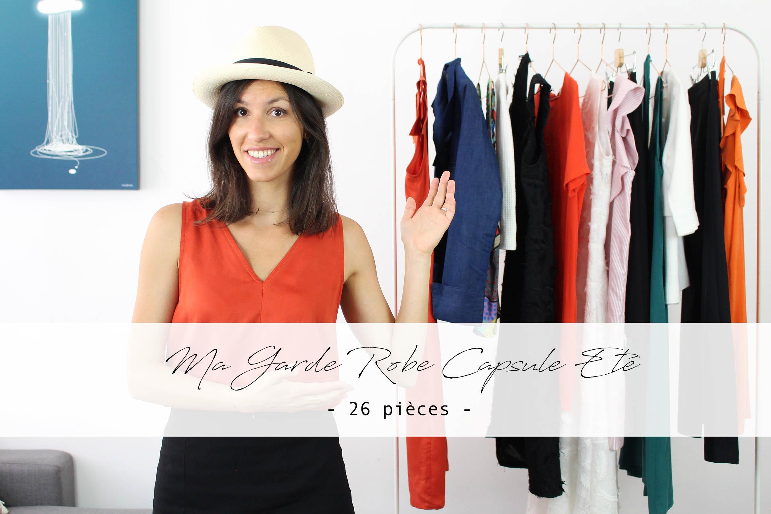 Ma Garde robe minimaliste été composée de 12 modèles   ATODE