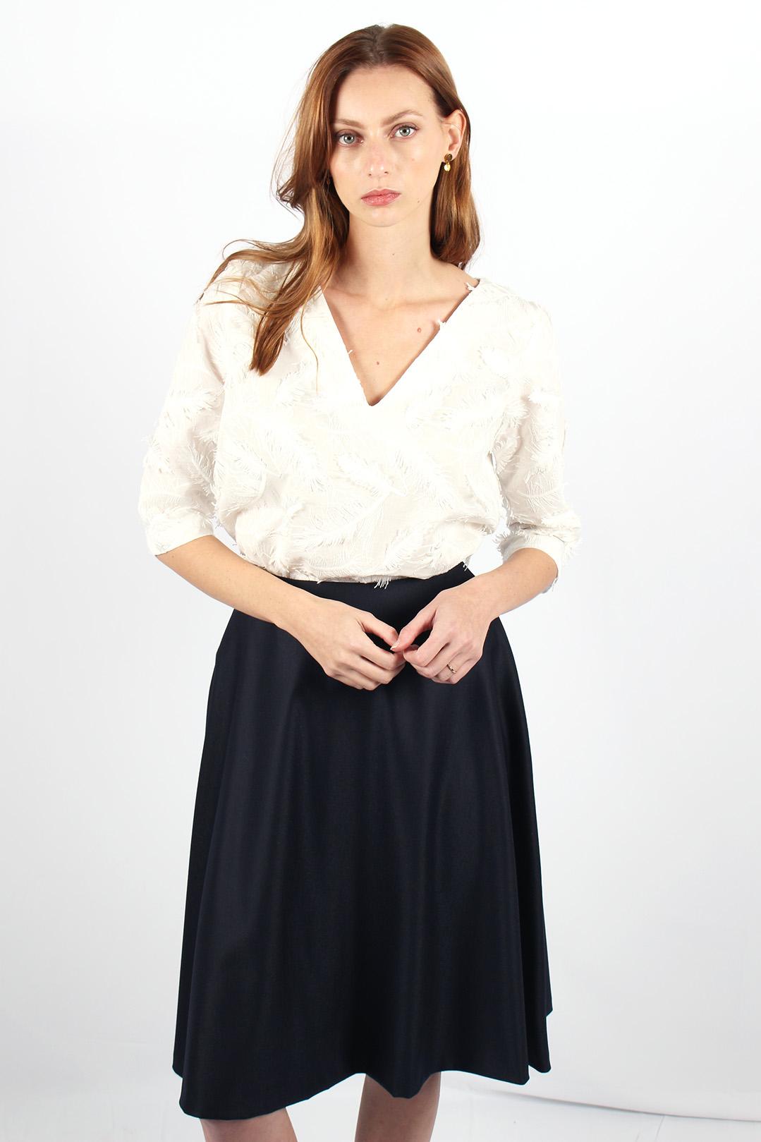 Top blanc en coton 5