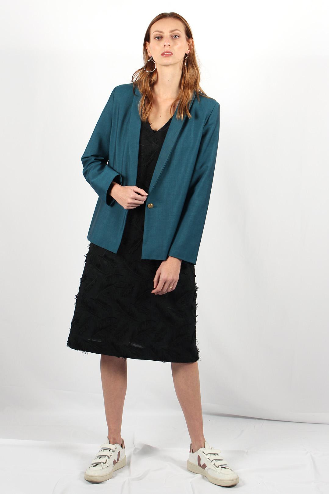 robe droite noire en coton16