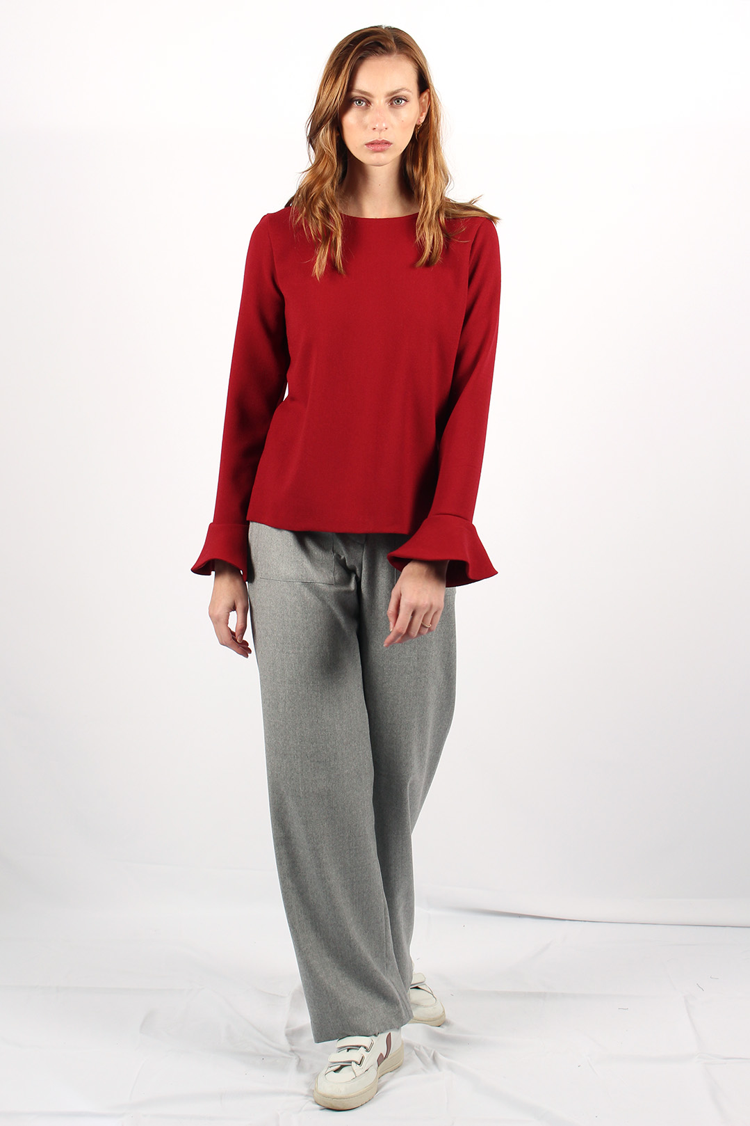 top en laine rouge 4