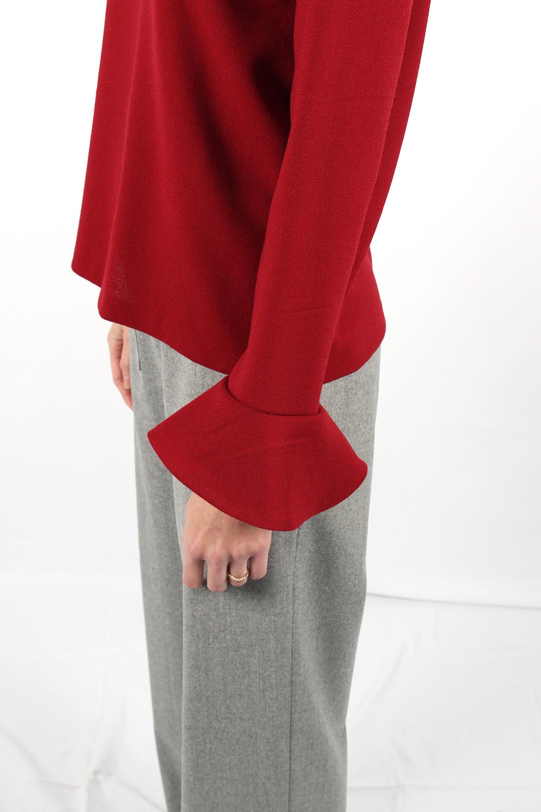 top en laine rouge 9
