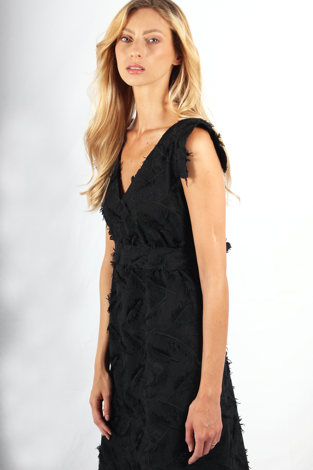 robe longue coton plume3