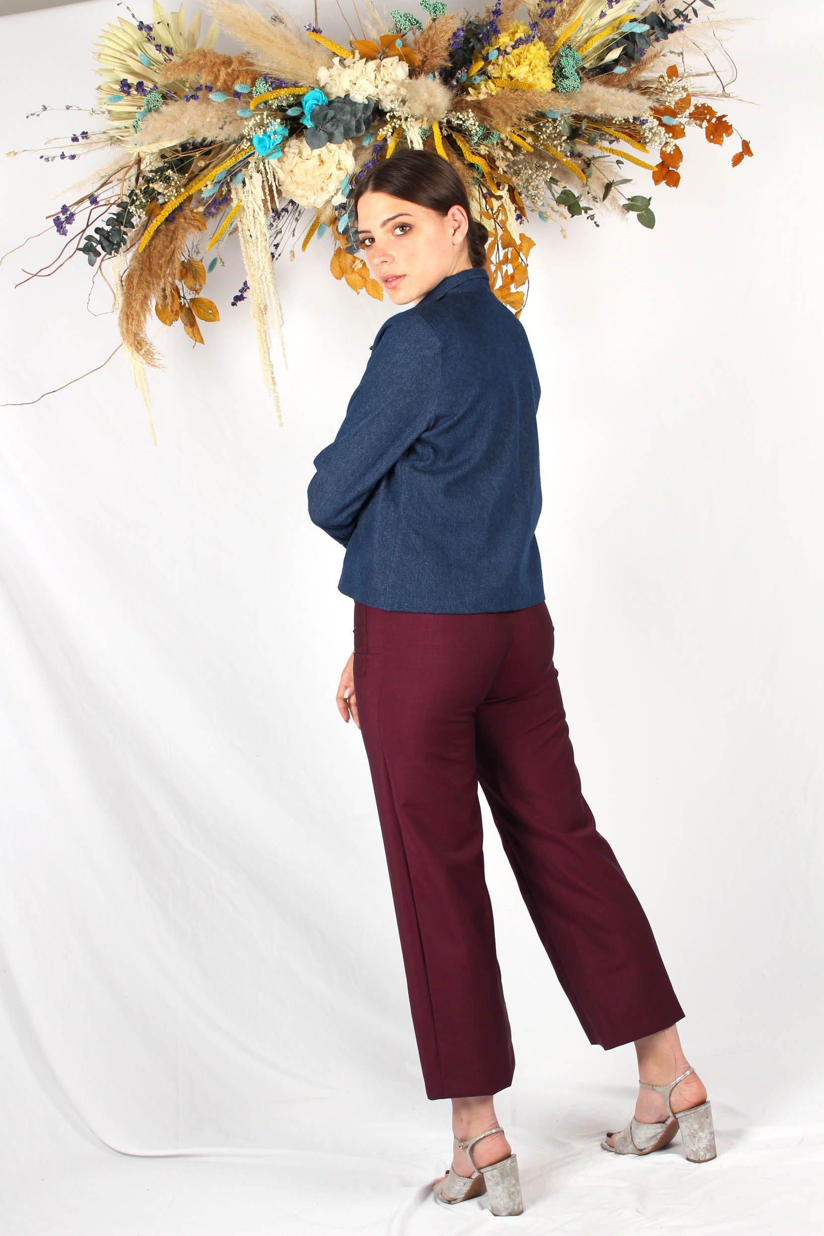 veste courte bleu jean2